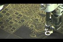patchwork - free motion quilting