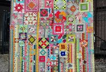 Quilts: Strings~~**~~ / String pieced quilts  / by ☆ ☆ Alice Cooksey ☆ ☆