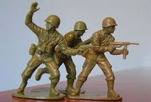 The Toy Soldier / Miniature toy soldiers from various periods, countries and manufacturers / by Jay Javier
