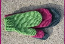 Crochet - Scarves, hats, & mittens / by Stacy Farley