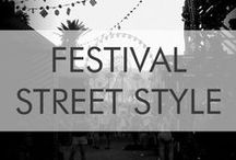 Festival Street Style / Loved the music/art festival styles! Can't wait for more fashion inspiration...