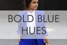 Bold Blue Hues / Regal Blue is our Color of Choice for Spring