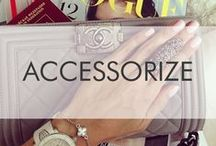 Accessorize / All my jewelry and hand bag must-haves!
