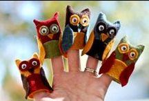 sewing - finger puppets