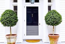 homestilo | curb appeal / inspiration for well designed and welcoming home entrances (exteriors)