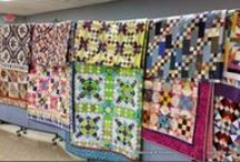 Quilts: Bonnie Hunter~~**~~ / Quilts designed by Bonnie Hunter, Quiltville.  Quilts that she has made or that have been made by others.  She designs fabulous scrap quilts. / by ☆ ☆ Alice Cooksey ☆ ☆