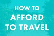Travel Tips and Tricks. / Everything you ever need or want to know about traveling, especially as a woman