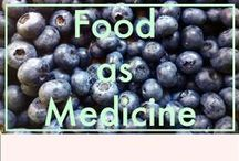 Food as Medicine. / Treating food as medicine for my body and clean eating for health.