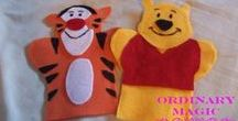 sewing - hand puppets