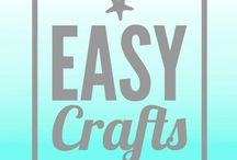 Create ⭐️: Easy Crafts / Super simple crafts because I don't do complicated well
