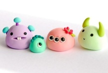 polymer clay...yay! / by Crafty Little Pigtails