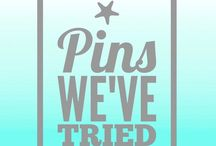 Live ❤️: Pins We've Tried / Things we've actually done and not just pinned