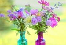Pretty Flowers! / by Crafty Little Pigtails
