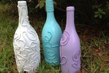 Crafts - Altered - BOTTLES & GLASS / by Becky Arcizo