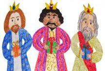 Christmas - THREE KINGS / by Becky Arcizo