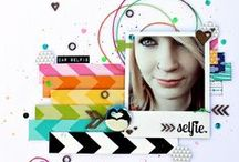 Scrapbook inspiration / by Crafty Little Pigtails