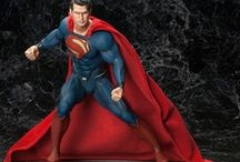 """Superman The Man of Steel / Kal El, son of Jor El or known as Clark Kent to us humans is also widely known as the """"Man of Steel"""". 2013 brings the latest big screen offering, Man of Steel, as a reboot to the popular superhero that got his start in DC Comics over 80 years ago. / by Urban Collector"""