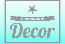 Teach✏️: Classroom Decor / Classroom decoration ideas (mostly) on a budget