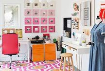 Inspiring Spaces - Offices/Craft Rooms / by Alexis @ Persia Lou