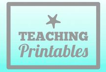 Teach✏️: Printables / Printable for decor, teaching, organization and more