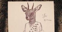 Fashion Animals / Stuff I make...