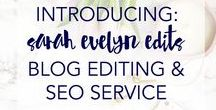 Blog Editing & Copy / The best posts on blog editing from around the web. Learn how to edit your blogposts to increase traffic, grow your audience and sell more products.