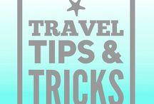 Wanderlust ✈️: Travel Tips / Tips and hacks to make traveling easier