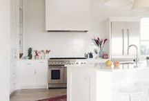 Kitchen White / Doing my kitchen white, so a tad obsessed right now..