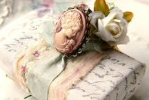 Pretty Presents, wrapping ideas / by The Rustic Victorian