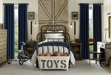 Interiors - Bedroom/Boy / Boys rooms are fun to do...and they really do care about what their room looks like. / by Terry Carlson @ AC Dwellings