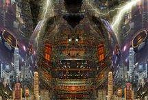 Personal digital artworks / Digital art from the Kaleidoscope King www.kaleidoscope-king.com / by Marlon Paul Bruin