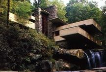 F. L. W. / The architecture/ ideals/ ideas of Frank Lloyd Wright. / by Penny Marie