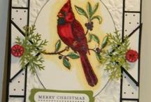 SU - Cardinal Christmas / by Sue Cartwright