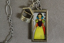 Rad jewelry made of vintage Disney stuff by Me.  / by Heather Sievers