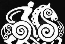 North Mythology and Designs / Fornnordisk mytologi och mönster