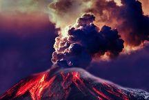 Vulcanoes/geysers/earthquakes / by Frederike Nickelsen