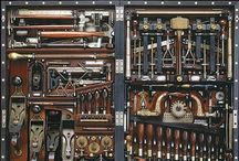 Tools/Instruments/machines / Antique and new tools / by Frederike Nickelsen