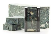 SOAP / Theese are some of our soaps and you can see the complete lineup at badeanstalten.com