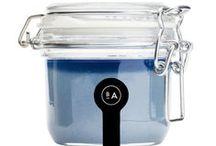 SALT / Badeanstalten salt products. Bodyscrub, bathsalt saltsoap + more.