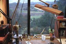 Studios and Tools / Studios, workshops and tools - where the magic happens.