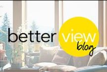 Better View / Find expert advice and inspiring insights from the window and door innovators at Pella.    View more blog posts at: Pella.com/Blog / by Pella Windows and Doors