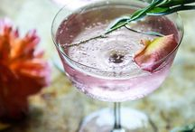 Gin Brands & Cocktails / Collection of gulping brands and gin cocktail recipes