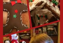 """Gingerbread / We love doing all sorts of gingerbread projects! To comply with the US Copyright Office, section 107, all of my Pinterest boards and pins are for """"criticism, comment, news reporting, teaching, scholarship, and research"""" as well as for nonprofit, educational purposes""""... I am not a lawyer, but tried to make sense of this: http://www.copyright.gov/fls/fl102.html"""