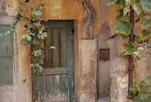 Interesting Doors & Windows / Architectural door and window elements that inspire me / by Lori McNee artist