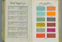 Color Palettes  / Interesting uses of color palettes