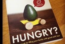 Hungry? recipe book / With over 100 delicious, simple, healthy recipes to choose from and plenty of tips and distractions, this book aims to help you fill your family with good stuff, by getting everyone involved in helping make, prepare and enjoy mealtimes together.  http://www.innocentdrinks.co.uk/bored/books/item/hungry / by innocent drinks