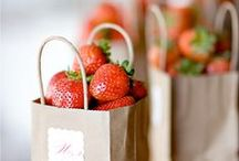 strawberries / Stuff for Tillie's Welcome Brunch