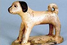 Vintage Dog Figurines ~ More / by Elda Kinnee