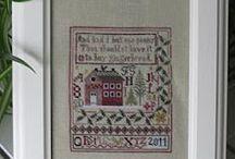 Cross-stitch / by RuthAnn Harward