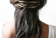hair / curls, waves, braids, lobs,